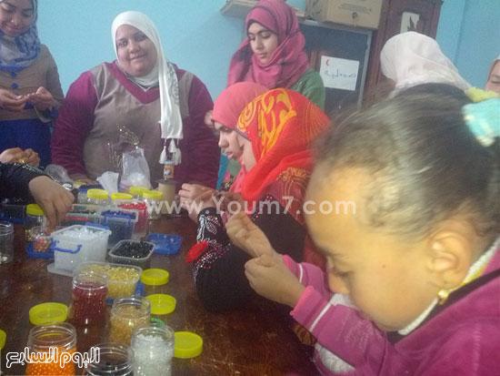 جمعية أسمنت الخيرية بالداخلة تستقبل قافلة لعلاج مرضى صعوبات التعلم (1)