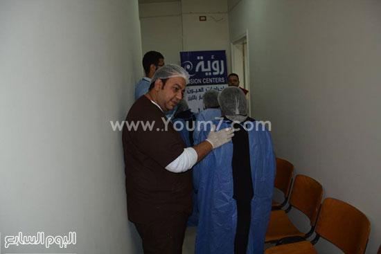 الاقصر،نقابة اطباء الاقصر،مركز رؤية للعيون،علاج المرضي بالمجان (3)