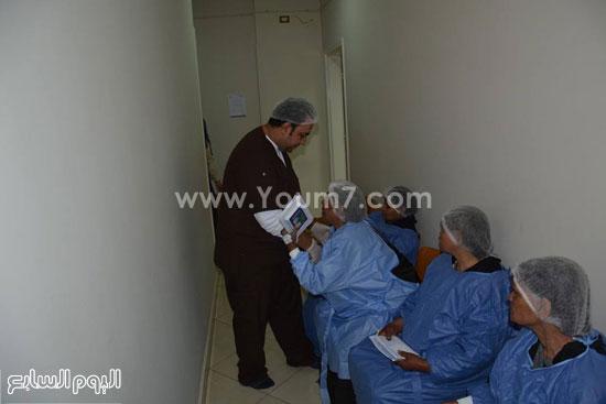 الاقصر،نقابة اطباء الاقصر،مركز رؤية للعيون،علاج المرضي بالمجان (4)
