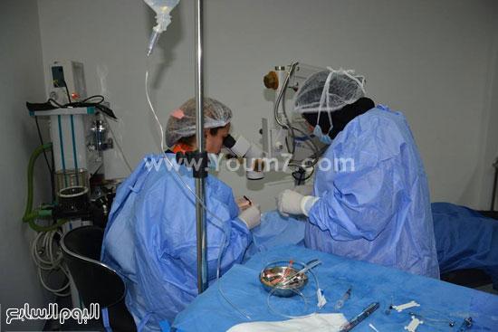 الاقصر،نقابة اطباء الاقصر،مركز رؤية للعيون،علاج المرضي بالمجان (7)