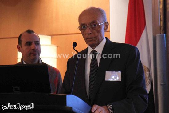 الجمعية المصريه البريطانيه لرجال الاعمال تستضيف وزير السياحه (3)