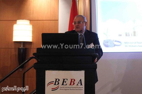 الجمعية المصريه البريطانيه لرجال الاعمال تستضيف وزير السياحه (4)