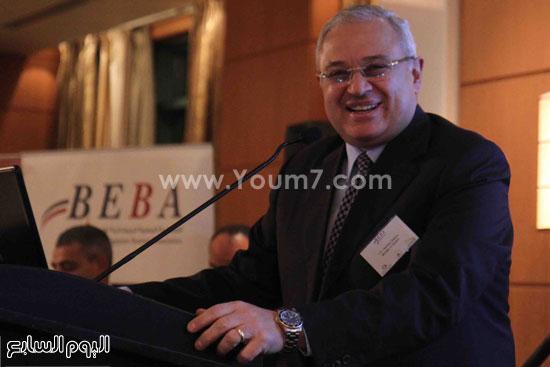 الجمعية المصريه البريطانيه لرجال الاعمال تستضيف وزير السياحه (5)