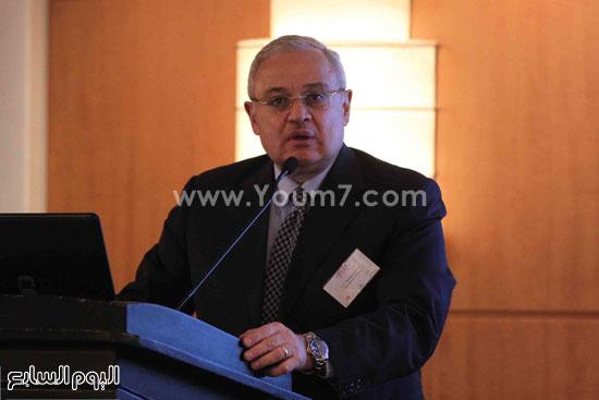 الجمعية المصريه البريطانيه لرجال الاعمال تستضيف وزير السياحه (7)
