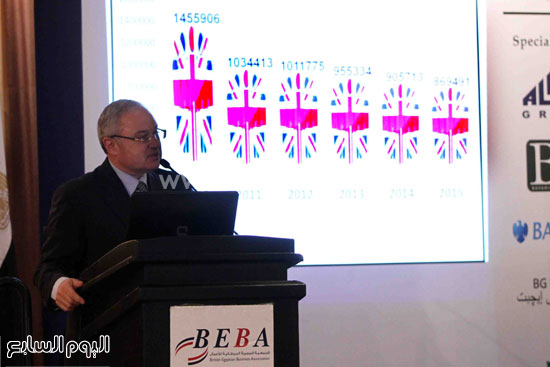 الجمعية المصريه البريطانيه لرجال الاعمال تستضيف وزير السياحه (11)