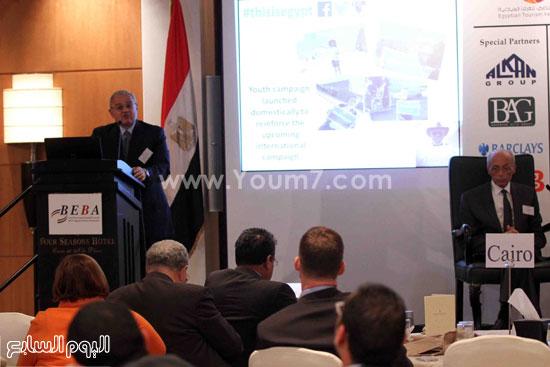 الجمعية المصريه البريطانيه لرجال الاعمال تستضيف وزير السياحه (15)