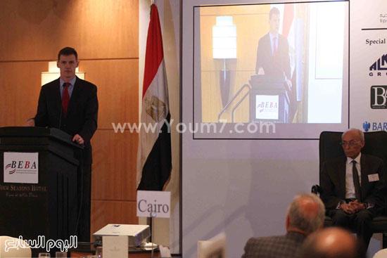 الجمعية المصريه البريطانيه لرجال الاعمال تستضيف وزير السياحه (20)