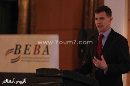 الجمعية المصريه البريطانيه لرجال الاعمال تستضيف وزير السياحه (21)