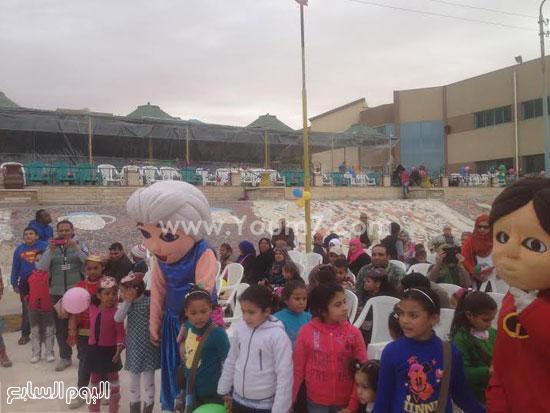 جانب من حفل مركز شباب الشيخ زايد -اليوم السابع -1 -2016