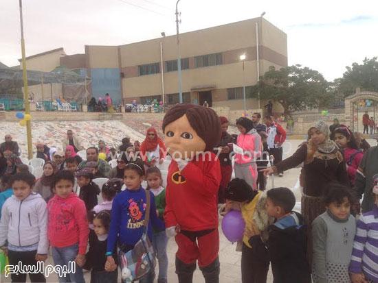 الأطفال المشاركين أثناء الحفل -اليوم السابع -1 -2016
