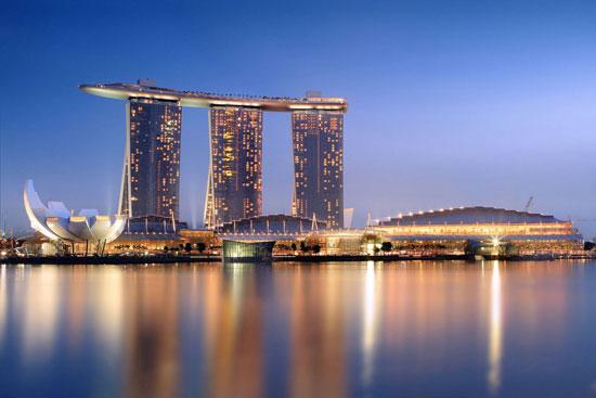 منتجع مارينا باى ساندز فى سنغافورة -اليوم السابع -12 -2015