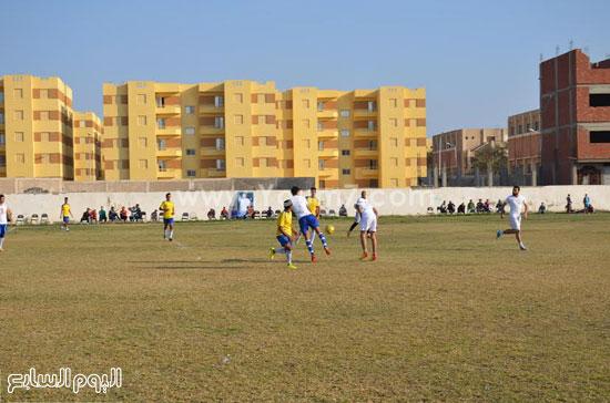مباراة كرة قدم  أثناء حفل التأبين -اليوم السابع -12 -2015