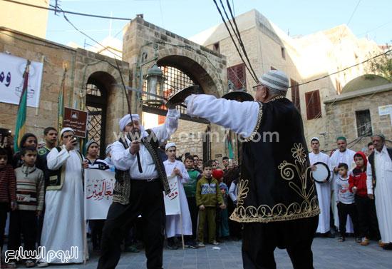 الرقص العربى الفلكلورى يملئ ساحات بيروت -اليوم السابع -12 -2015