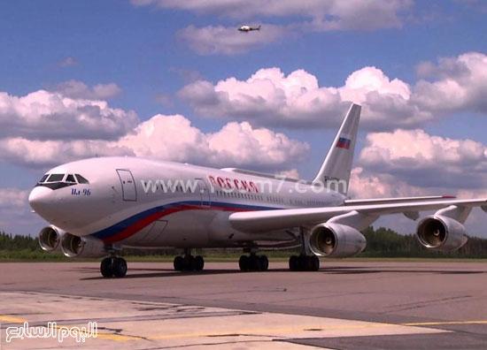 طائرة بوتين إل 96 -اليوم السابع -12 -2015