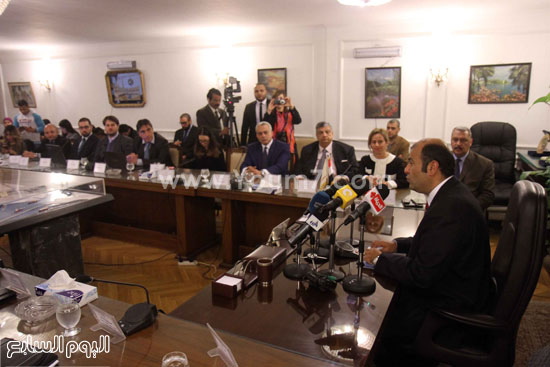 وزير التموين  التموين  خالد حنفى  اخبار مصر  البورصة السلعية احتكارات المنتجات (1)