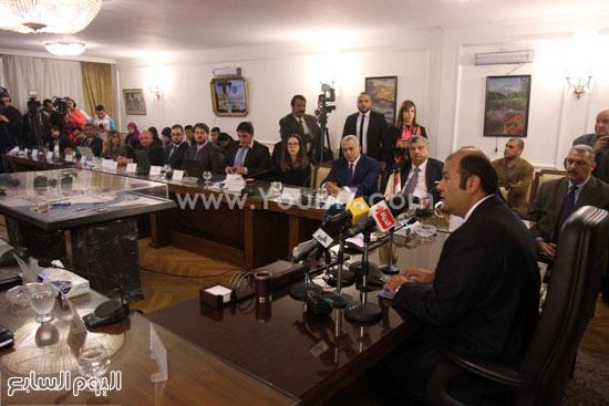 وزير التموين  التموين  خالد حنفى  اخبار مصر  البورصة السلعية احتكارات المنتجات (2)