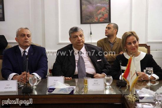 وزير التموين  التموين  خالد حنفى  اخبار مصر  البورصة السلعية احتكارات المنتجات (4)