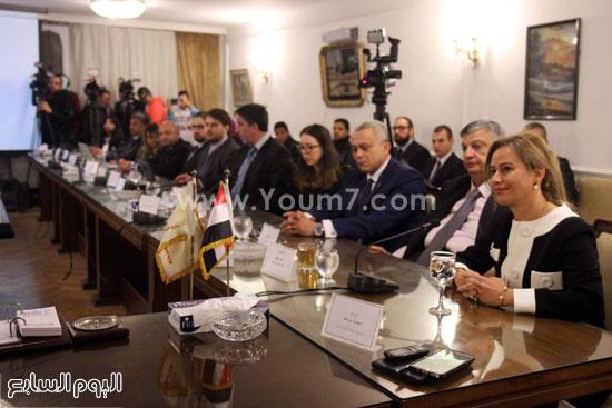 وزير التموين  التموين  خالد حنفى  اخبار مصر  البورصة السلعية احتكارات المنتجات (5)