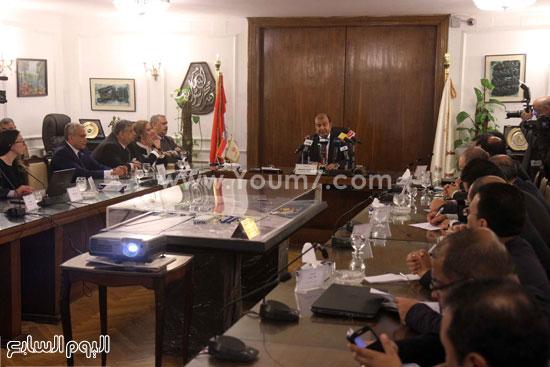 وزير التموين  التموين  خالد حنفى  اخبار مصر  البورصة السلعية احتكارات المنتجات (7)