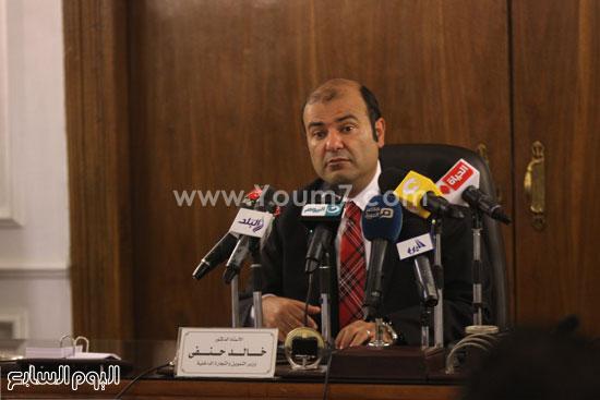 وزير التموين  التموين  خالد حنفى  اخبار مصر  البورصة السلعية احتكارات المنتجات (8)