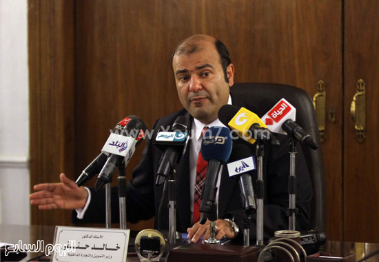 وزير التموين  التموين  خالد حنفى  اخبار مصر  البورصة السلعية احتكارات المنتجات (9)