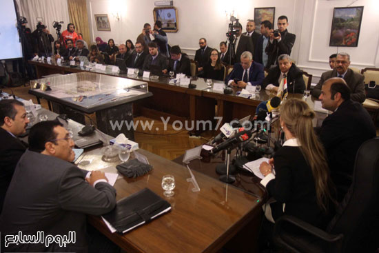 وزير التموين  التموين  خالد حنفى  اخبار مصر  البورصة السلعية احتكارات المنتجات (14)