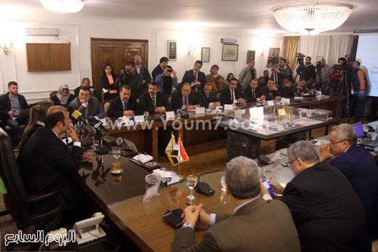 وزير التموين  التموين  خالد حنفى  اخبار مصر  البورصة السلعية احتكارات المنتجات (16)