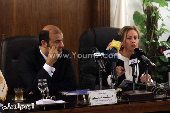 وزير التموين  التموين  خالد حنفى  اخبار مصر  البورصة السلعية احتكارات المنتجات (17)