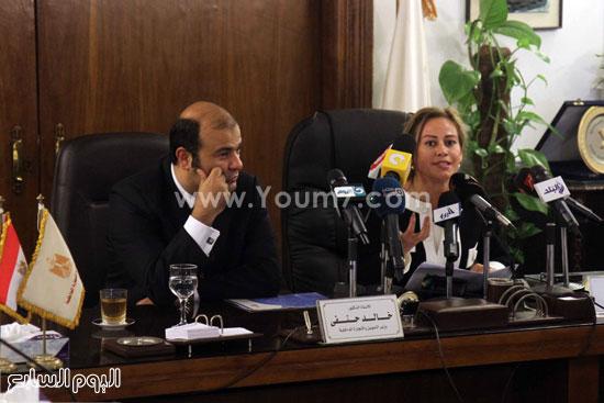 وزير التموين  التموين  خالد حنفى  اخبار مصر  البورصة السلعية احتكارات المنتجات (18)