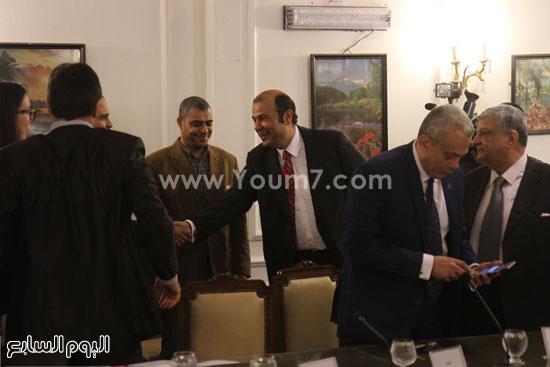 وزير التموين  التموين  خالد حنفى  اخبار مصر  البورصة السلعية احتكارات المنتجات (19)