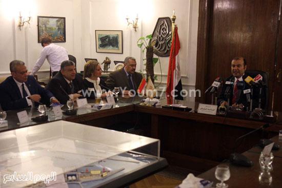 وزير التموين  التموين  خالد حنفى  اخبار مصر  البورصة السلعية احتكارات المنتجات (20)