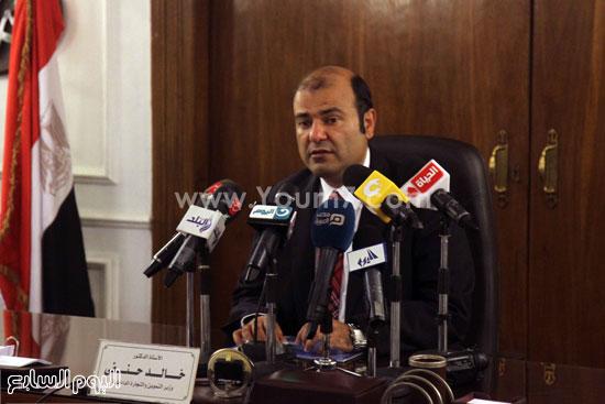 وزير التموين  التموين  خالد حنفى  اخبار مصر  البورصة السلعية احتكارات المنتجات (21)
