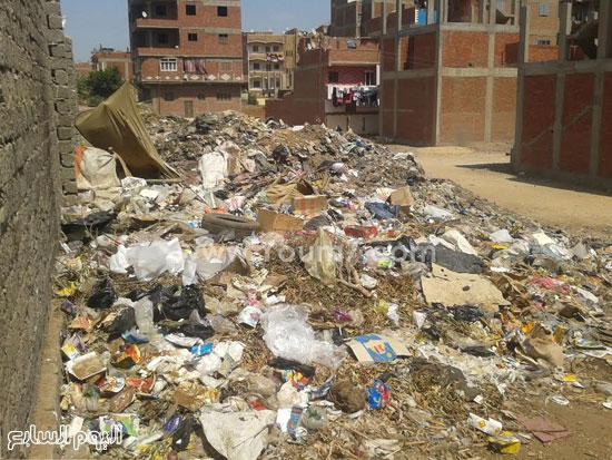 صحافة المواطن، تراكم القمامة، صرف صحى، قرية الرملة، منطقة الجزيرة  (1)