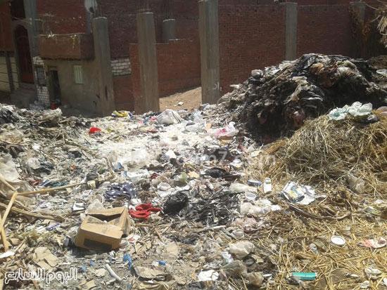 صحافة المواطن، تراكم القمامة، صرف صحى، قرية الرملة، منطقة الجزيرة  (4)