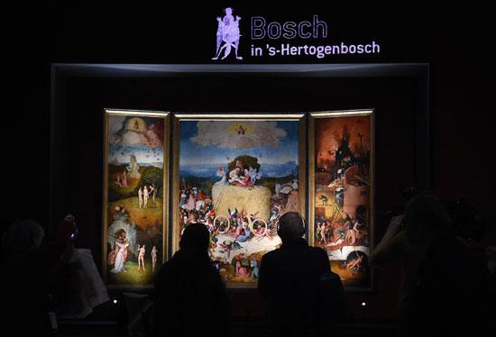 معرض رؤى عبقرية، الفنان الهولندى هيرونيموس بوش، متحف نوردبرابانتس، فن تشكيلى، اخبار الثقافة (3)
