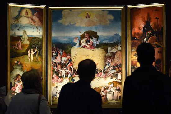 معرض رؤى عبقرية، الفنان الهولندى هيرونيموس بوش، متحف نوردبرابانتس، فن تشكيلى، اخبار الثقافة (4)