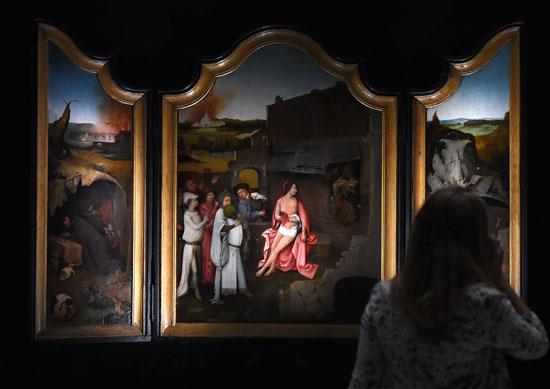 معرض رؤى عبقرية، الفنان الهولندى هيرونيموس بوش، متحف نوردبرابانتس، فن تشكيلى، اخبار الثقافة (5)