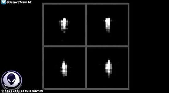 علماء الفلك يلتقطون صور لجسم غريب بيضاوي يدور حول الأرض 3