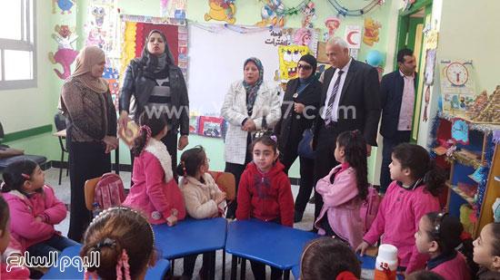 جولة وكيل وزارة التربية والتعليم (10)