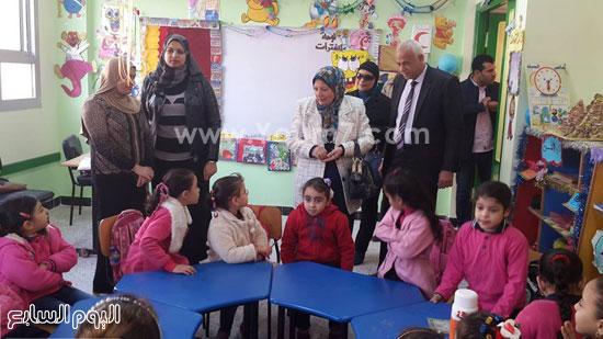 جولة وكيل وزارة التربية والتعليم (11)