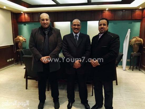 الدكتور عبد المالك التوادرى والشيخ كامل مطر (2)