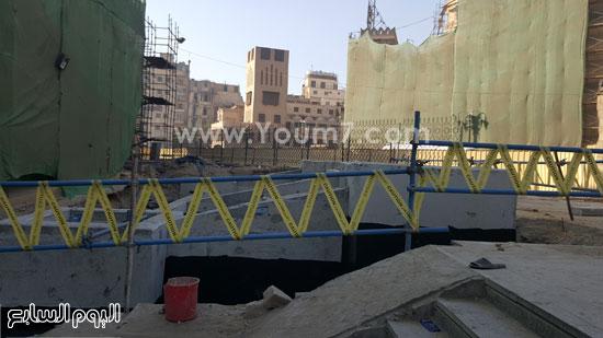 أعمال ترميم الجامع الأزهر (2)
