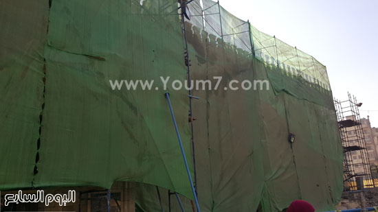 أعمال ترميم الجامع الأزهر (3)