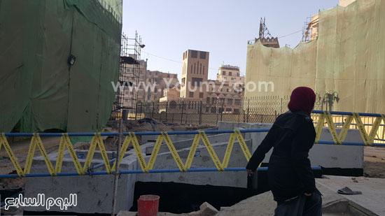 أعمال ترميم الجامع الأزهر (4)