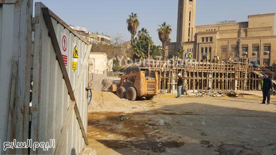 أعمال ترميم الجامع الأزهر (5)
