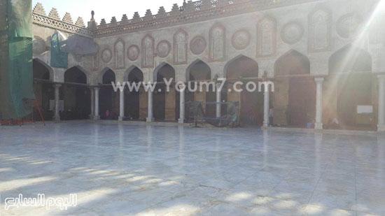 أعمال ترميم الجامع الأزهر (6)