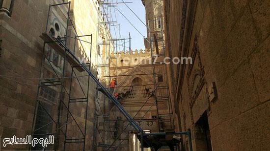 أعمال ترميم الجامع الأزهر (7)