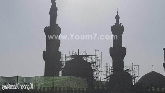 أعمال ترميم الجامع الأزهر (10)