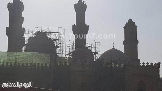 أعمال ترميم الجامع الأزهر (9)