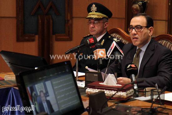 مؤتمر صحفى اكاديميه الشرطه (2)